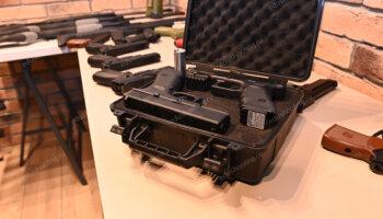 Лазерное оружие в чемодане